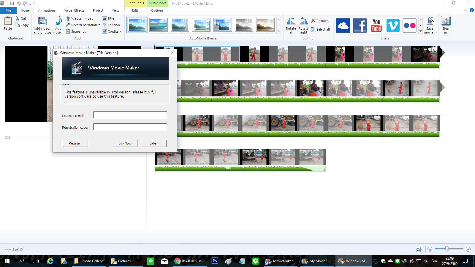 codec automaticamente movie maker