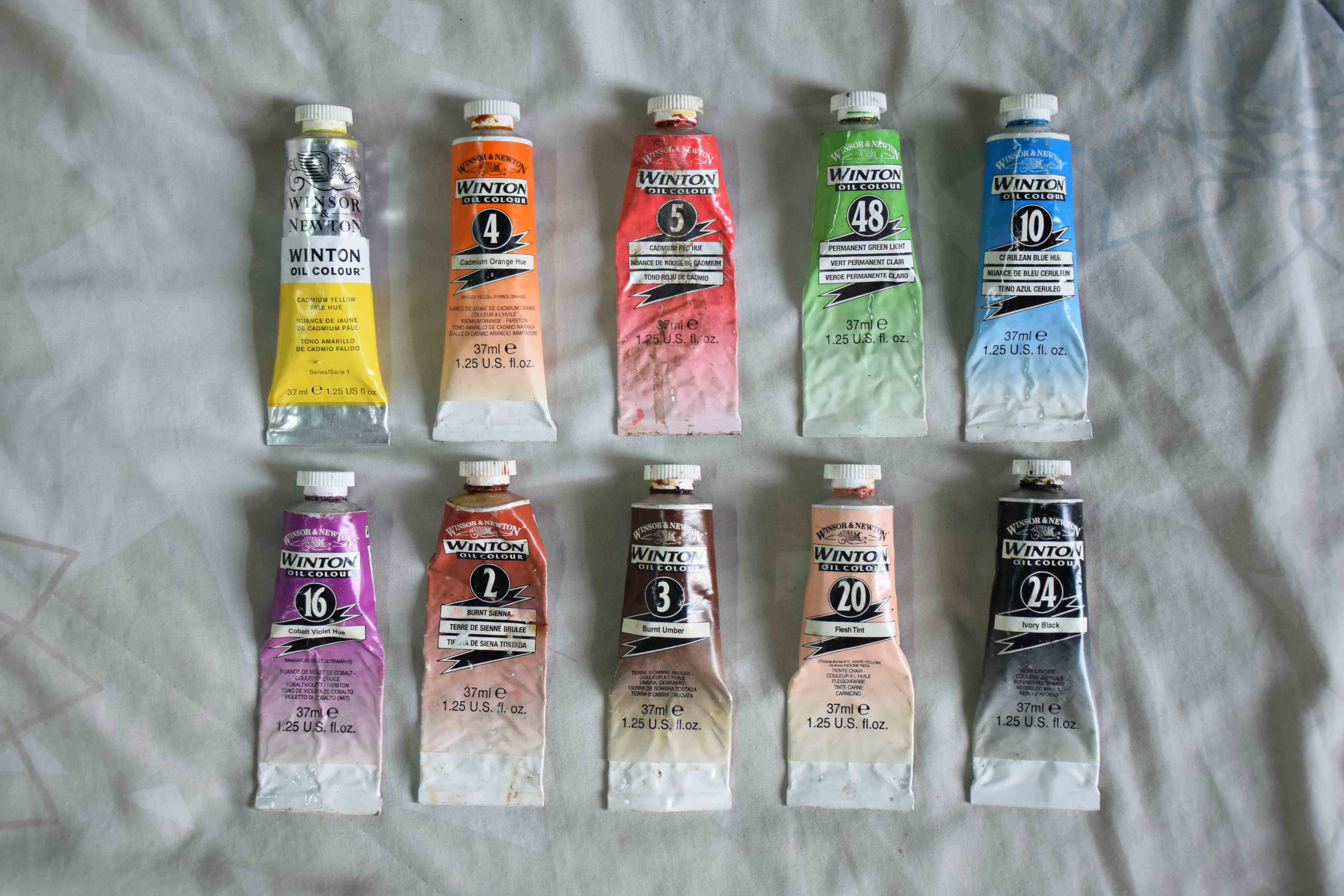 Winsor And Newton Artists Oil Paints