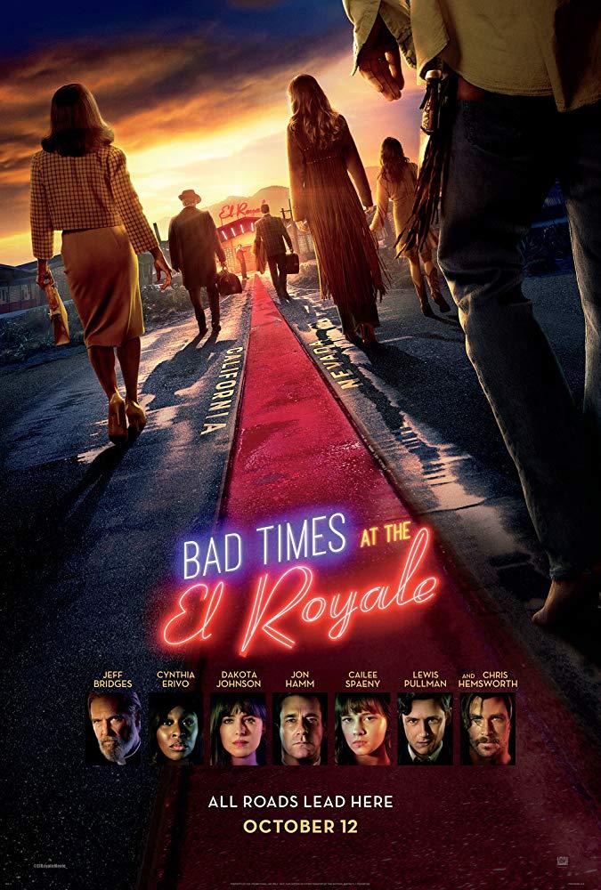 Bad Times at the El Royale (2018) - [คืนเดือด คนโฉด,หนัง Crime ...