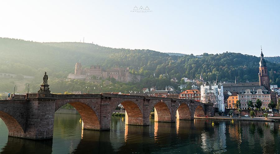 สะพาน Heidelberg เยอรมัน