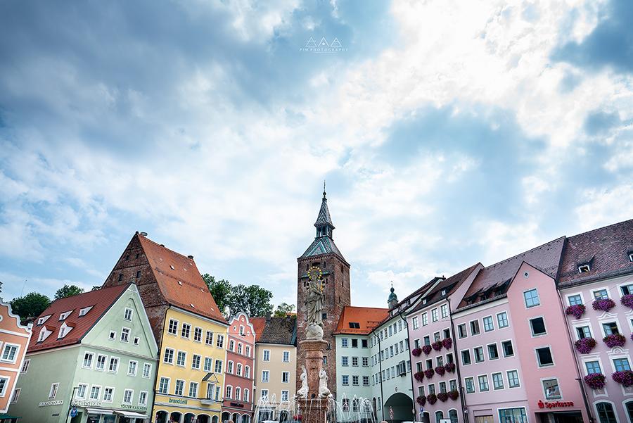 Landsberg am lech Town Square