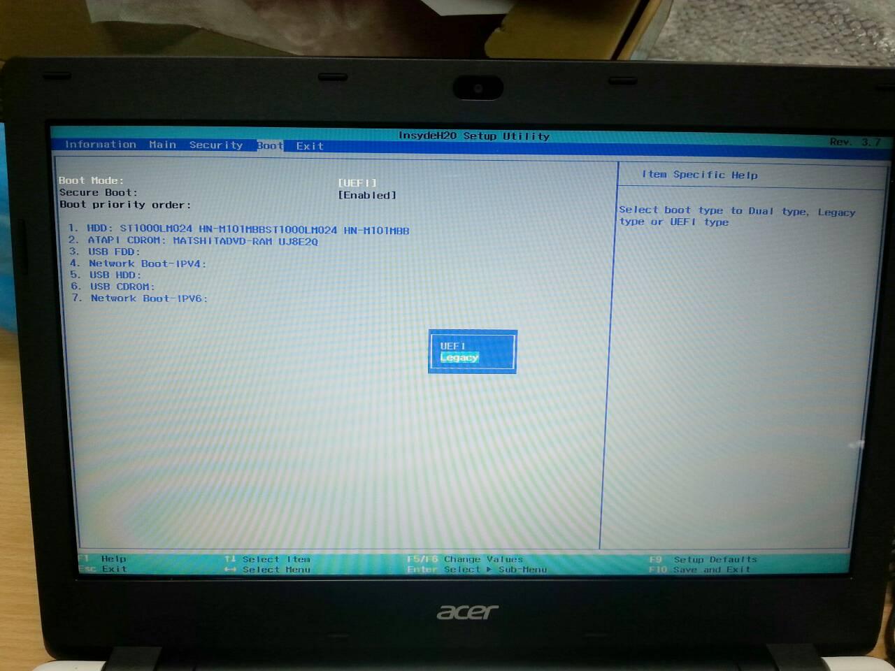 ง่ายๆ กับการลง Windows 8 1 สำหรับเครื่อง ACER ASPIRE E14 - Pantip