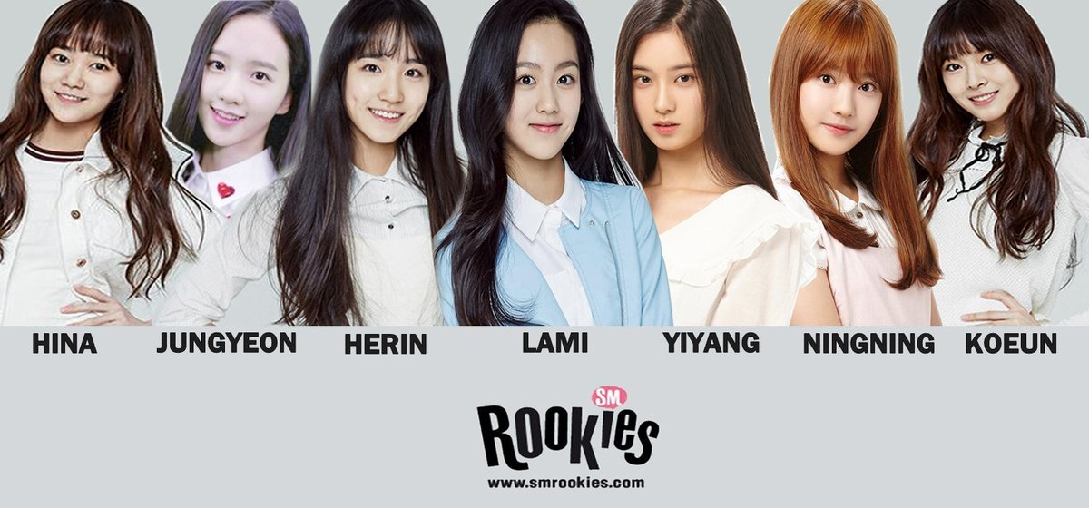 History of SM Rookies Girls - Becoming more Chinese and visual over