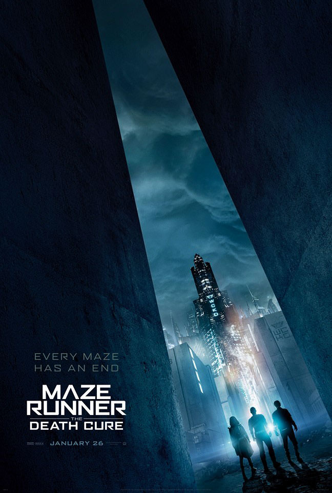 Resultado de imagem para The Maze Runner: Death Cure posters