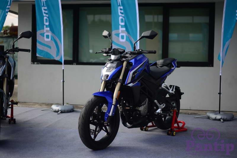 รีวิว CF Moto 250NK ลองแบรนด์ใหม่ Naked สูบเดี่ยว 250cc