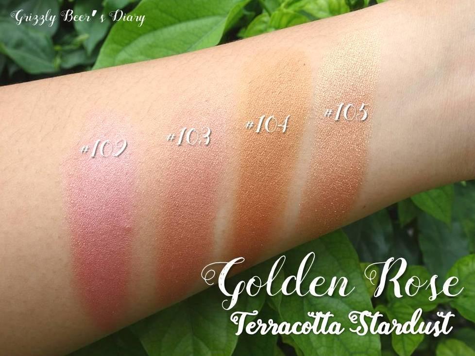 Golden Rose Terracotta Stardust 105 Die Bilder Coleection