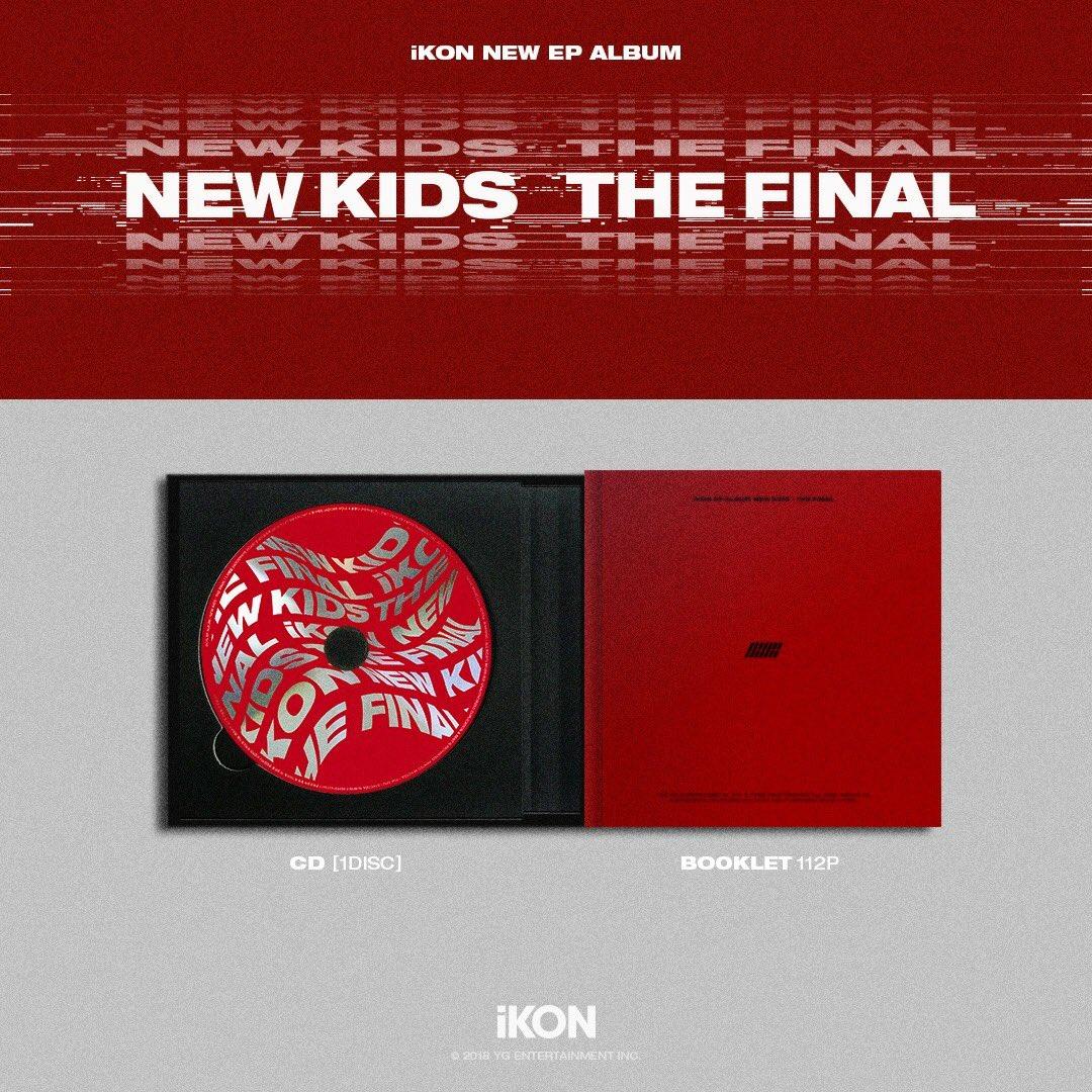 iKON 'NEW KIDS:THE FINAL' NEW EP ALBUM : PREVIEW - Pantip