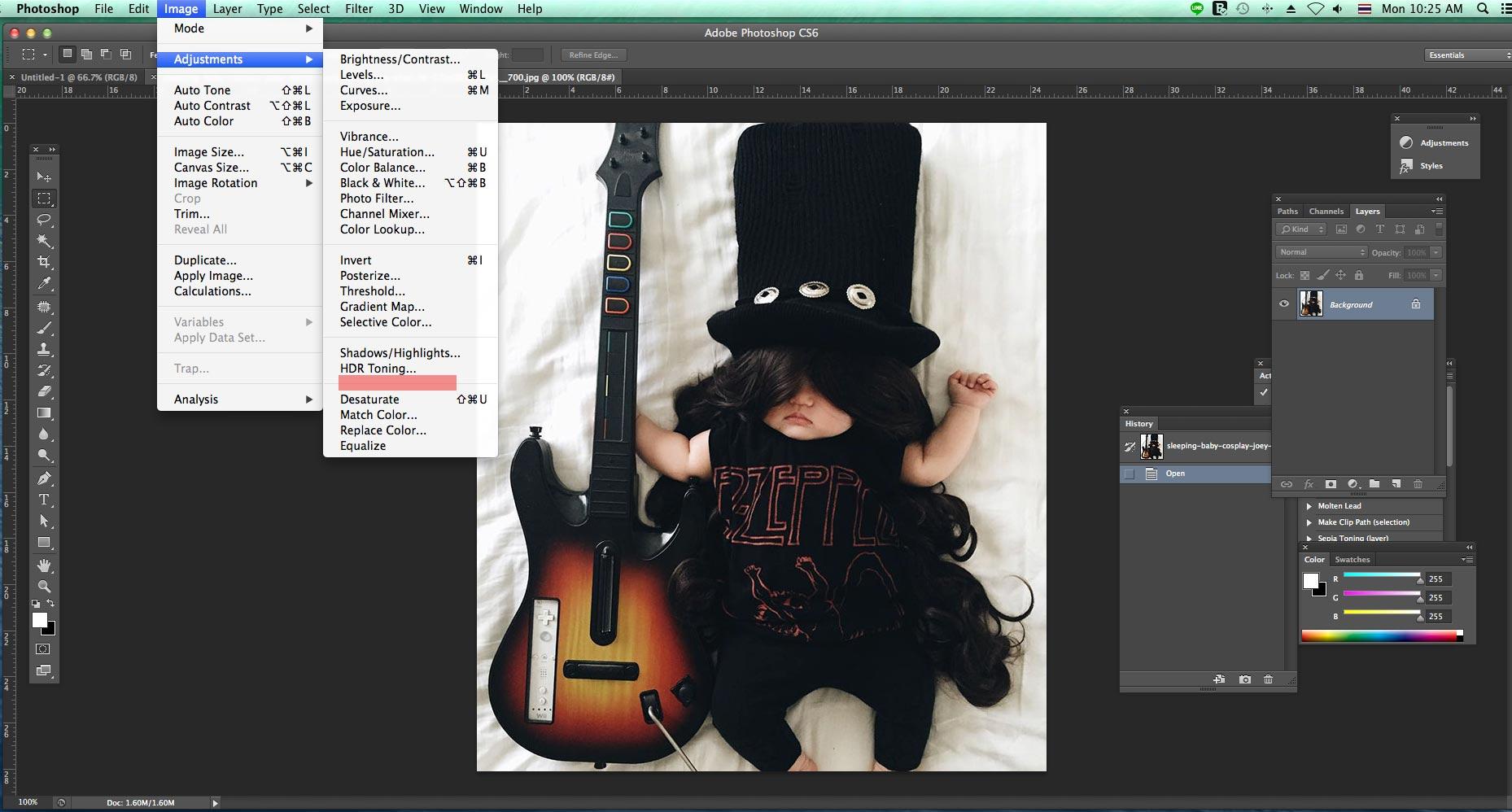 เครื่องมือ photoshop cs6