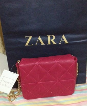 Zara Mini Quilted Shoulder Bag 7