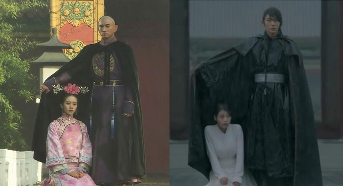 Bu bu jing xin moon lovers for Last season wedding dresses