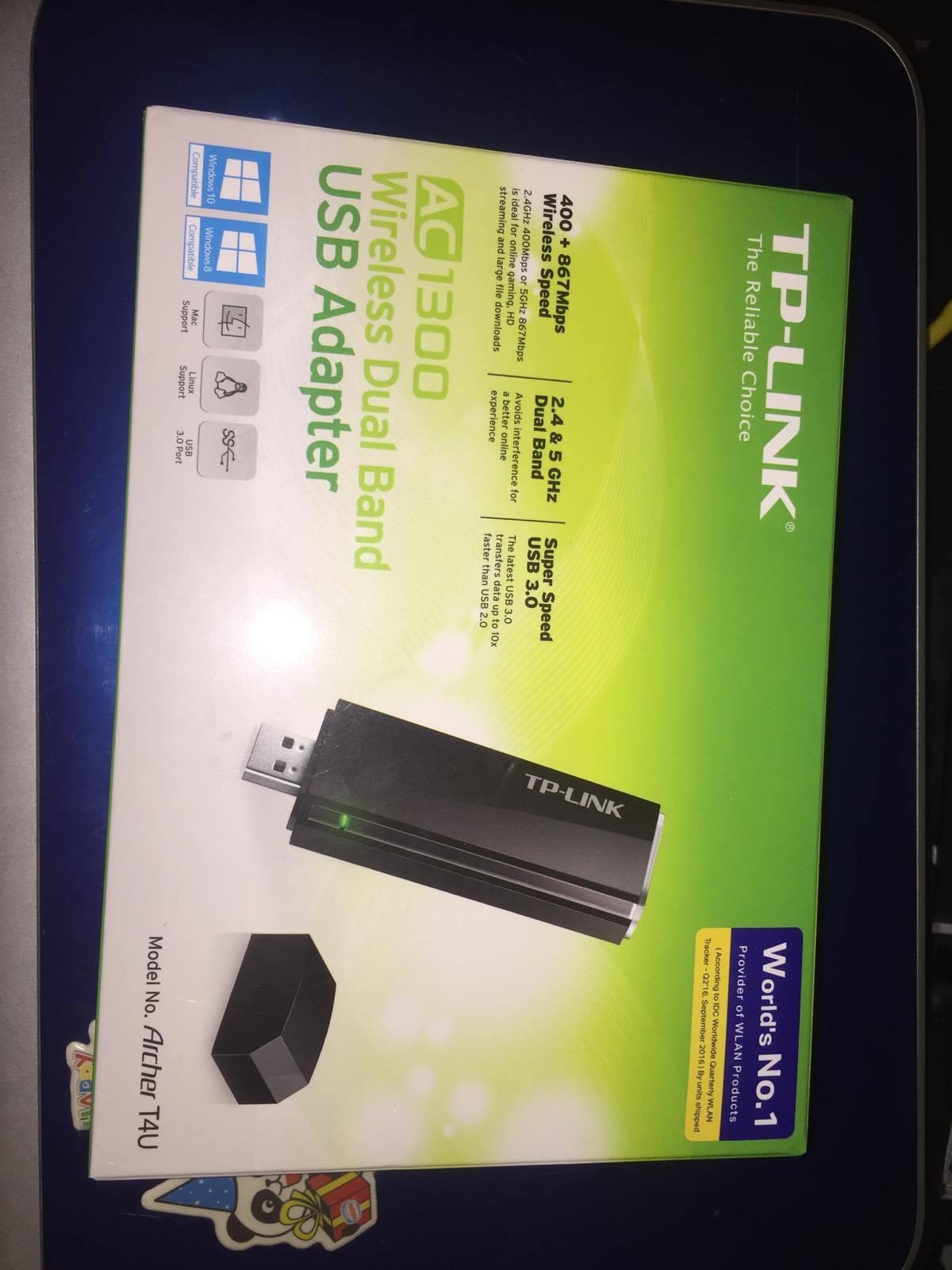 Tp Link Usb Adapter Archer T4u Pantip Wifi Wn723n 24 Ghz