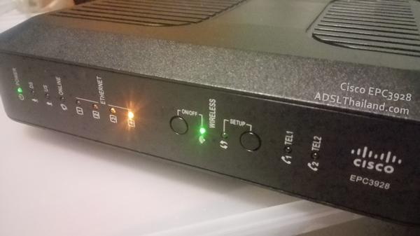 ใครใช้ Router CISCO EPC3928 บ้างครับ มาแชร์ประสบการณ์การใช้งานกัน