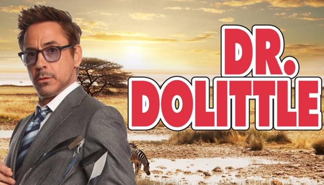 Robert Downey Jr. รับบทนำเป็นคุณหมอที่มีความสามารถในการพูดคุยกับสัตว์ ใน  'Dr. Dolittle' ฉบับรีเมค