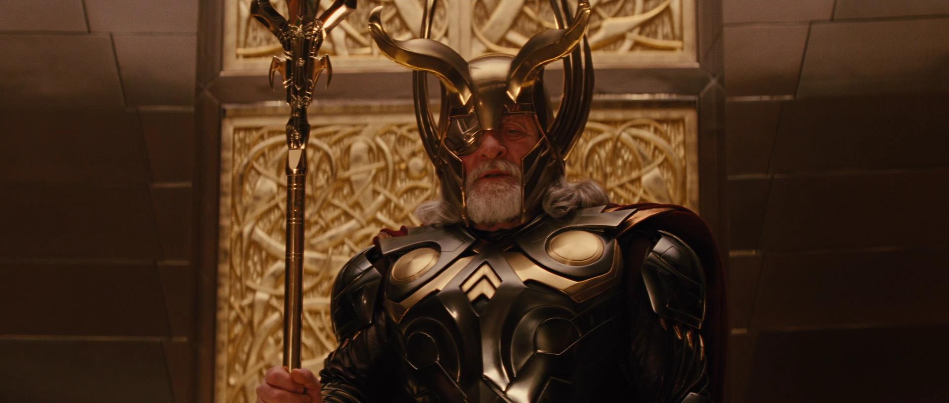 Odin  vs Thanos